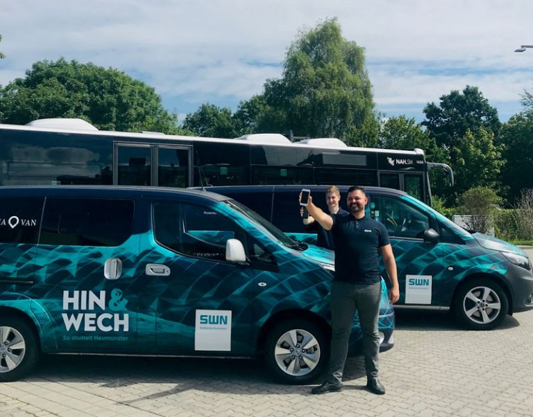 "SWN: Neues Mobility-on-demand-Angebot ""Hin&Wech"""