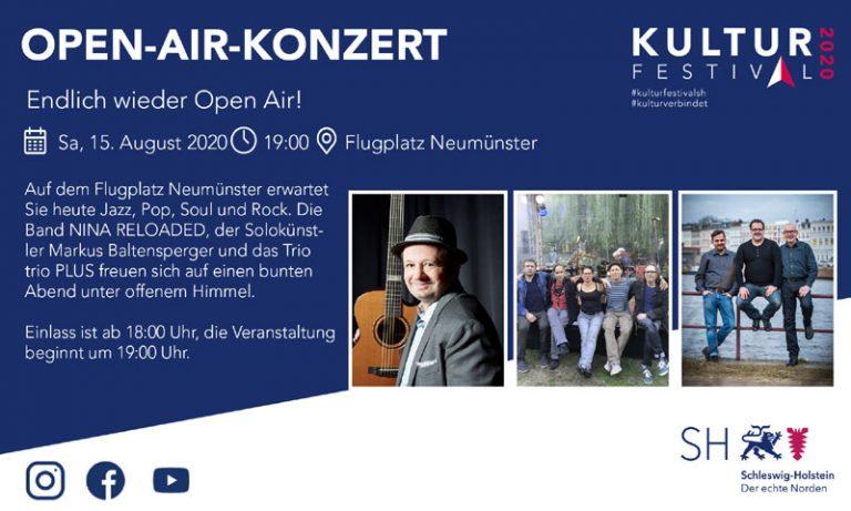 Kulturfestival SH Open Air in Neumünster