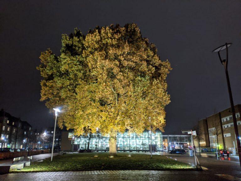 Die Innenstadt erstrahlt im Lichterglanz
