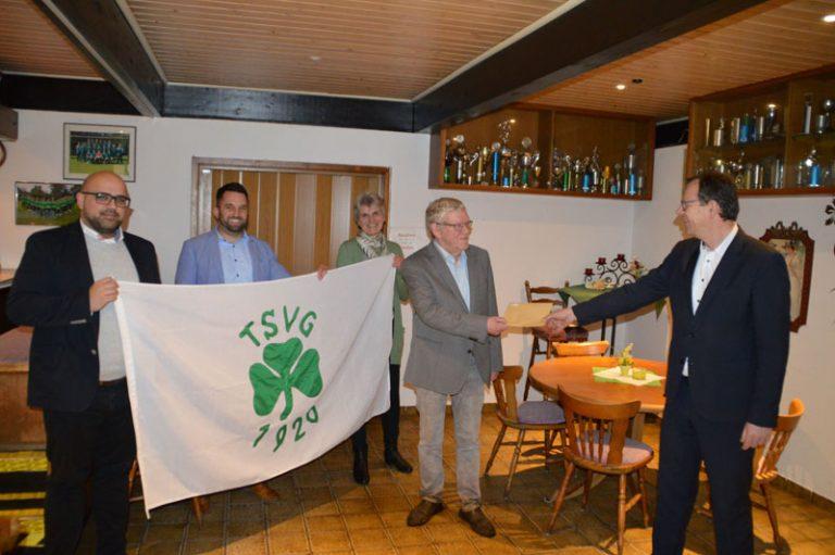 Stadt würdigt 100 Jahre TSV Gadeland