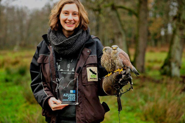 Der Wildpark Eekholt bildete die bundesbeste Zootierpflegerin 2020 aus!