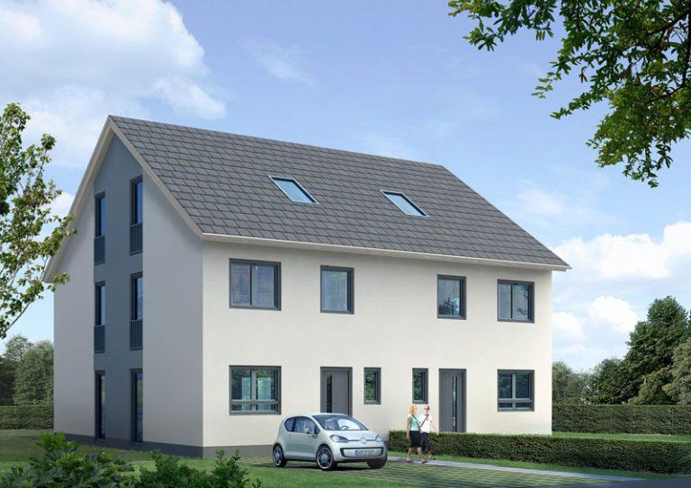 Soll es ein Doppelhaus werden?