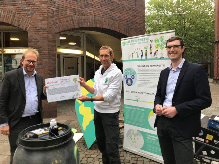 Stadt Neumünster nimmt Klimawette an